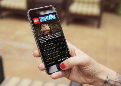 Lego Conference Mobile App Interface