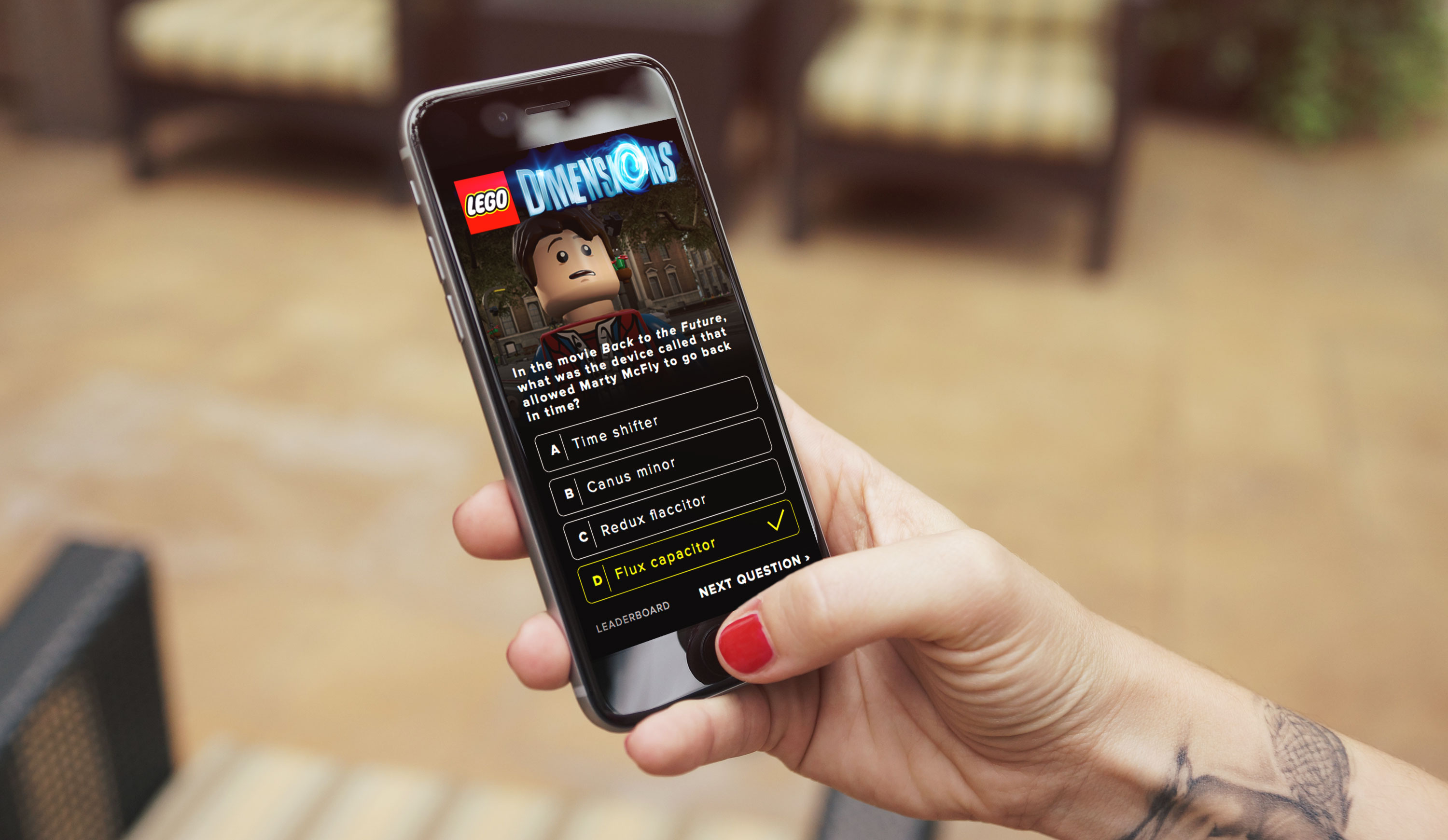 Lego conference mobile app