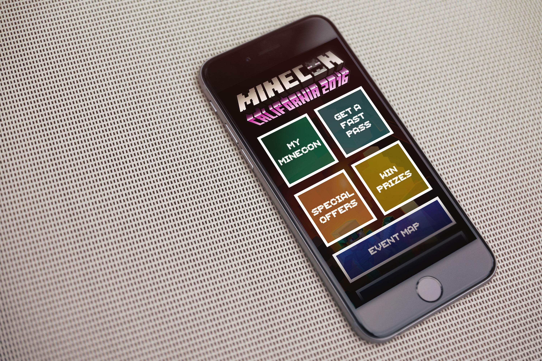 Minecon mobile app