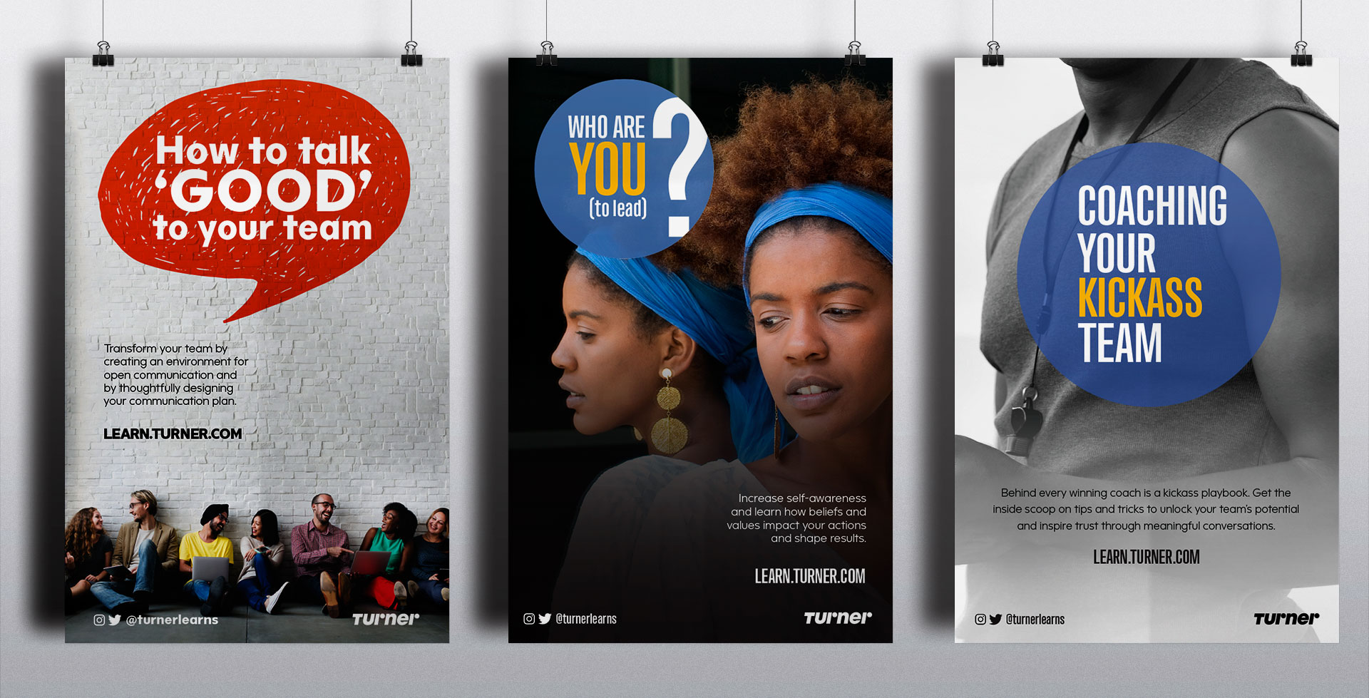 Turner Broadcasting employee training posters