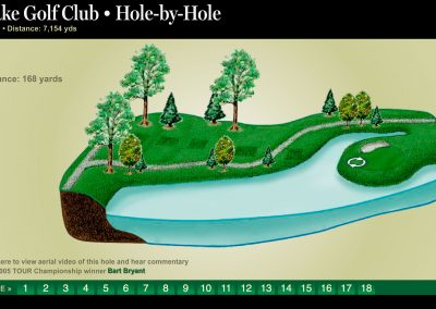 East Lake Golf Club: Hole-by-hole