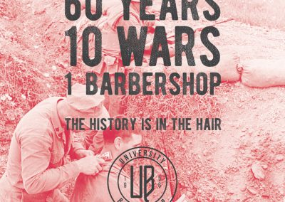 University Barbershop - Ad